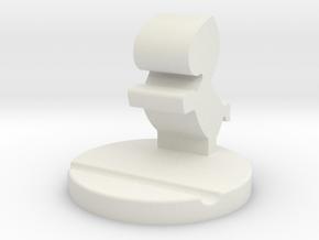 106102104手機座 in White Natural Versatile Plastic: Small