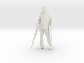 Printle C Homme 1087 - 1/32 - wob in White Natural Versatile Plastic