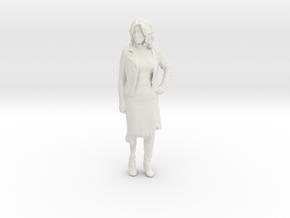 Printle C Femme 929 - 1/18 - wob in White Natural Versatile Plastic