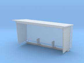 Wartehaus aus Betonfertigteilen mit Fliesen, DDR,  in Smooth Fine Detail Plastic