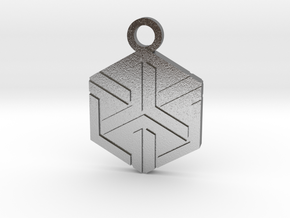 House of Ishida Charm in Natural Silver