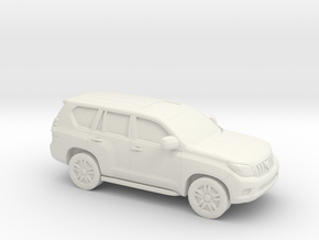 1/87 2008-Present Toyota Land Cruiser in White Natural Versatile Plastic