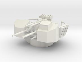 1/72 RNsextuple 40mm Bofors AA gun in White Natural Versatile Plastic