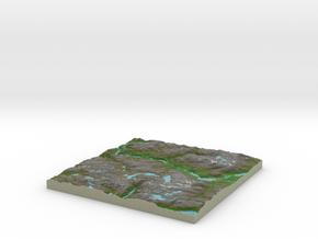 Terrafab generated model Sat Dec 30 2017 15:00:05  in Full Color Sandstone