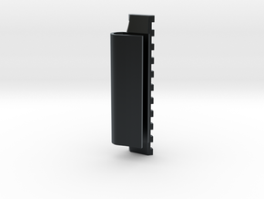 Side-Mounted Picatinny Rail For Skateboards in Black Hi-Def Acrylate