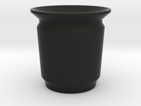 Modern Pencil Cup - Sm / Desk Accessories in Black Natural Versatile Plastic