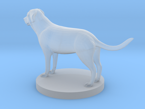 Mastiff in Smooth Fine Detail Plastic