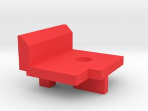 ppq semi plate in Red Processed Versatile Plastic