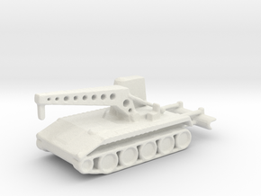 1/160 Scale T121 in White Natural Versatile Plastic