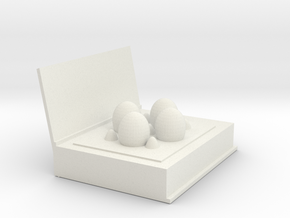 egg box(book) in White Natural Versatile Plastic