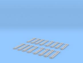 Set Rungen  Roos/Rnoos Scale TT in Smooth Fine Detail Plastic