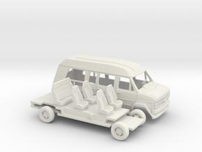 1/43 1988 Chevrolet G Van Conversion Kit in White Natural Versatile Plastic