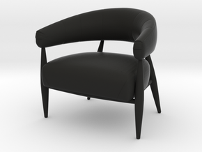 Chair 2018 model 1 in Black Natural Versatile Plastic