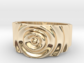 Ringpples Ring 1 in 14K Yellow Gold