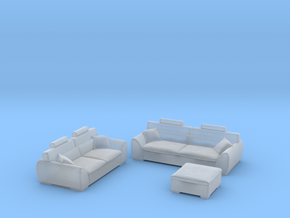 sofa set 2018 model 2 in Smooth Fine Detail Plastic
