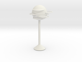 Round lamps in White Natural Versatile Plastic