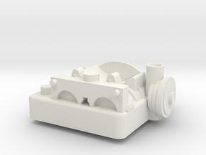 AT-ST R1 Full Curve in White Natural Versatile Plastic
