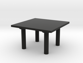 Table  in Black Premium Versatile Plastic