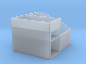 Storage Box in Smooth Fine Detail Plastic: Large