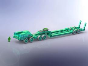MAZ 543 TanK Transporter 1/285 in Smooth Fine Detail Plastic