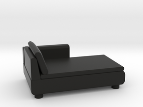 Sofa 2018 model 10 in Black Natural Versatile Plastic