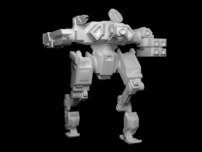 "Mk3 FX43-02 ""Stalker"" Automated Battlesuit in Frosted Ultra Detail"