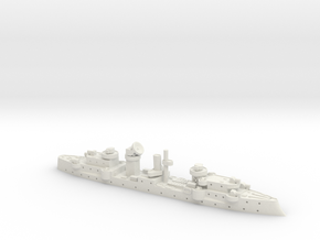 Medusa 1/1800 (AA Ship) in White Natural Versatile Plastic