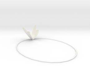106102319項鍊 in White Processed Versatile Plastic
