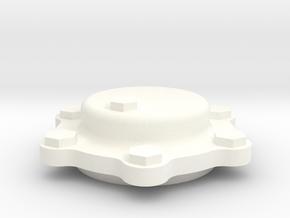 Journal Cap2 in White Processed Versatile Plastic
