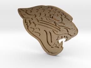 jaguars2 in Polished Gold Steel