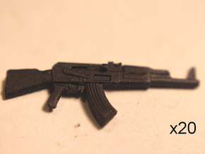 AK47s for everyone! in Smoothest Fine Detail Plastic