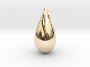 Drop in 14k Gold Plated Brass