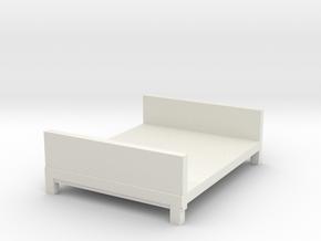 可調式床架.stl in White Natural Versatile Plastic