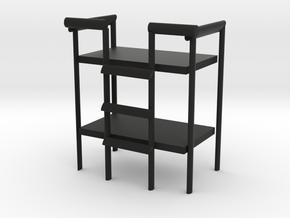 4尺雙層床 in Black Natural Versatile Plastic