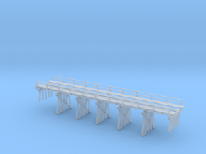 Timber Trestle N Scale: SP Common Standard Design in Smooth Fine Detail Plastic
