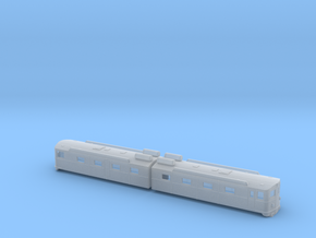 Swedish SJ electric locomotive type Dm in modified in Smooth Fine Detail Plastic