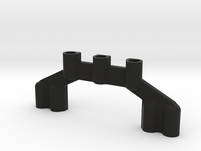 XT-2 Motor_Brace_Holder in Black Strong & Flexible