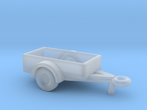 1/160 Scale Trailer in Smooth Fine Detail Plastic