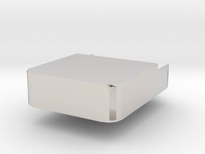 Phone box.stl in Platinum: Medium