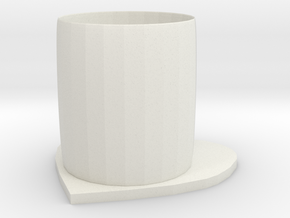 lover cup in White Natural Versatile Plastic: Medium