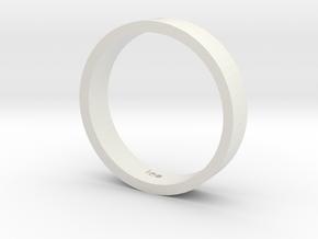 5 in White Strong & Flexible: Medium
