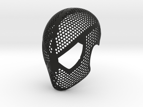 Raimi Face Shell - 100% Accurate Movie Suit Mask in Black Natural Versatile Plastic: Small