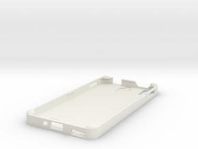106102240PhoneCase in White Natural Versatile Plastic