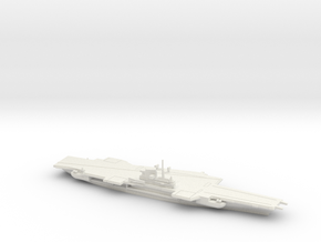 USS Coral Sea (CV-43), Final Layout, 1/2400 in White Natural Versatile Plastic