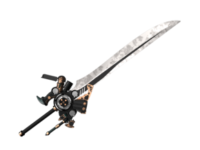 1:6 Miniature Engine Blade - Final Fantasy 15 in White Natural Versatile Plastic
