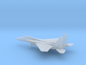 McDonnell Douglas F-15A Eagle in Smooth Fine Detail Plastic: 6mm