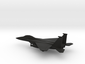 McDonnell Douglas F-15E Strike Eagle in Black Natural Versatile Plastic: 1:200