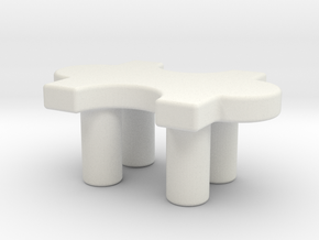 chair in White Natural Versatile Plastic: Extra Small