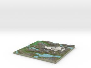 Terrafab generated model Sat Jan 06 2018 12:25:48  in Full Color Sandstone
