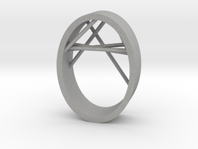 Agguvo Ring in Aluminum